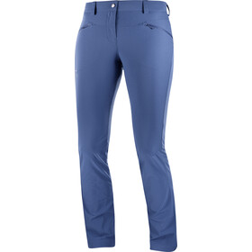 Salomon Wayfarer Straight LT Pantalon Femme, dark denim